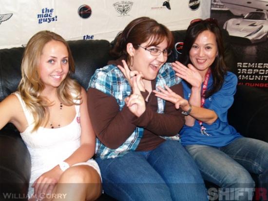 Melissa, Barbara, and Hiromi