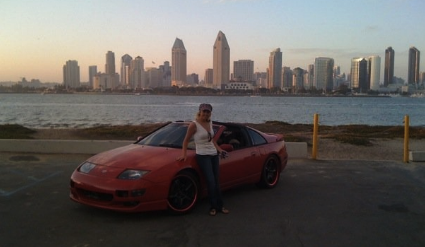 My car and I