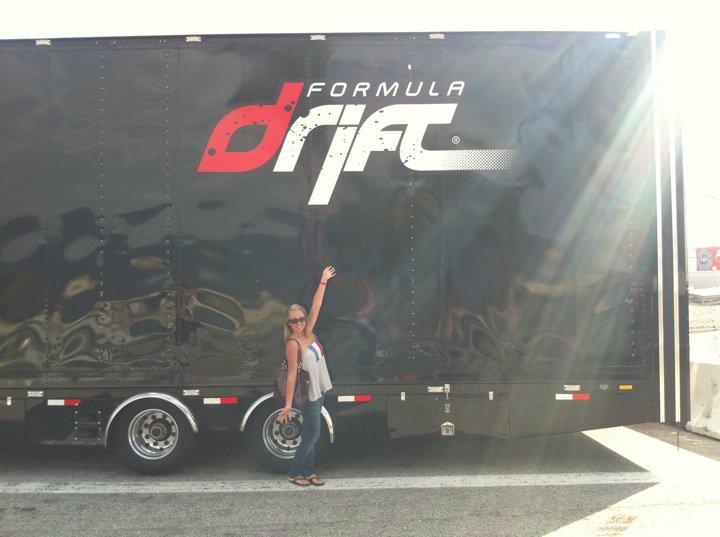 Mel at FormulaD