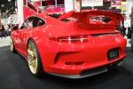 HRE Porsche red