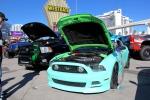 Teal Mustang