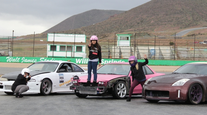 Girls Day at Willow Springs Raceway